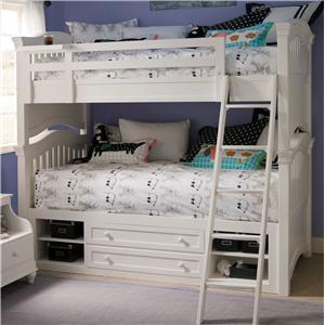 Smartstuff Classics 4.0 Twin Storage Bunk Bed