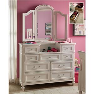 Universal Kids Smartstuff Gabriella Dressing Chest & Mirror