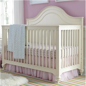 Smartstuff Gabriella Convertible Crib with Toddler Rail