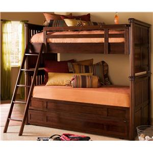 Smartstuff Rough House Twin Over Twin Trundle Bunk