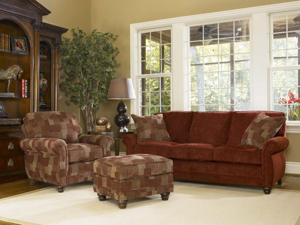 Traditional Sofa By Smith Brothers Wolf Furniture