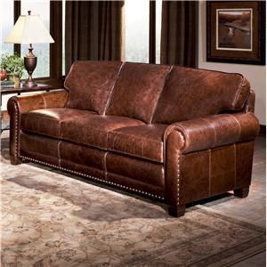 Smith Brothers 393 Traditional Stationary Sofa