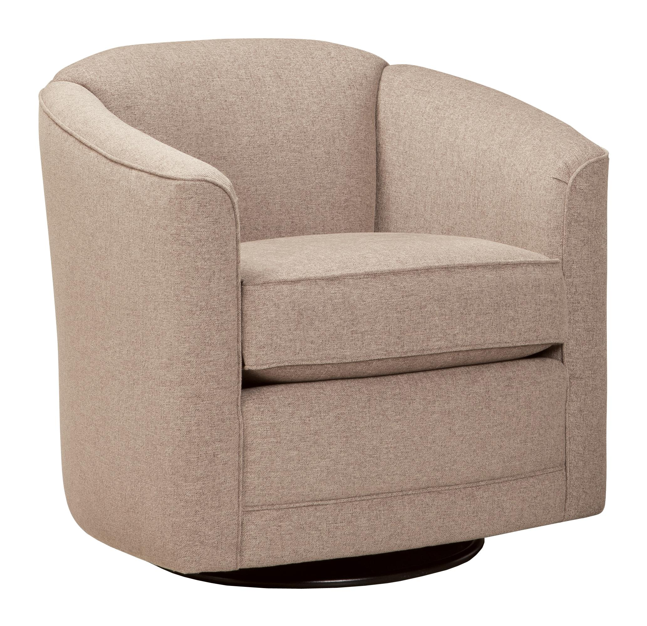 Swivel Chair with Barrel Back by Smith Brothers | Wolf and ...