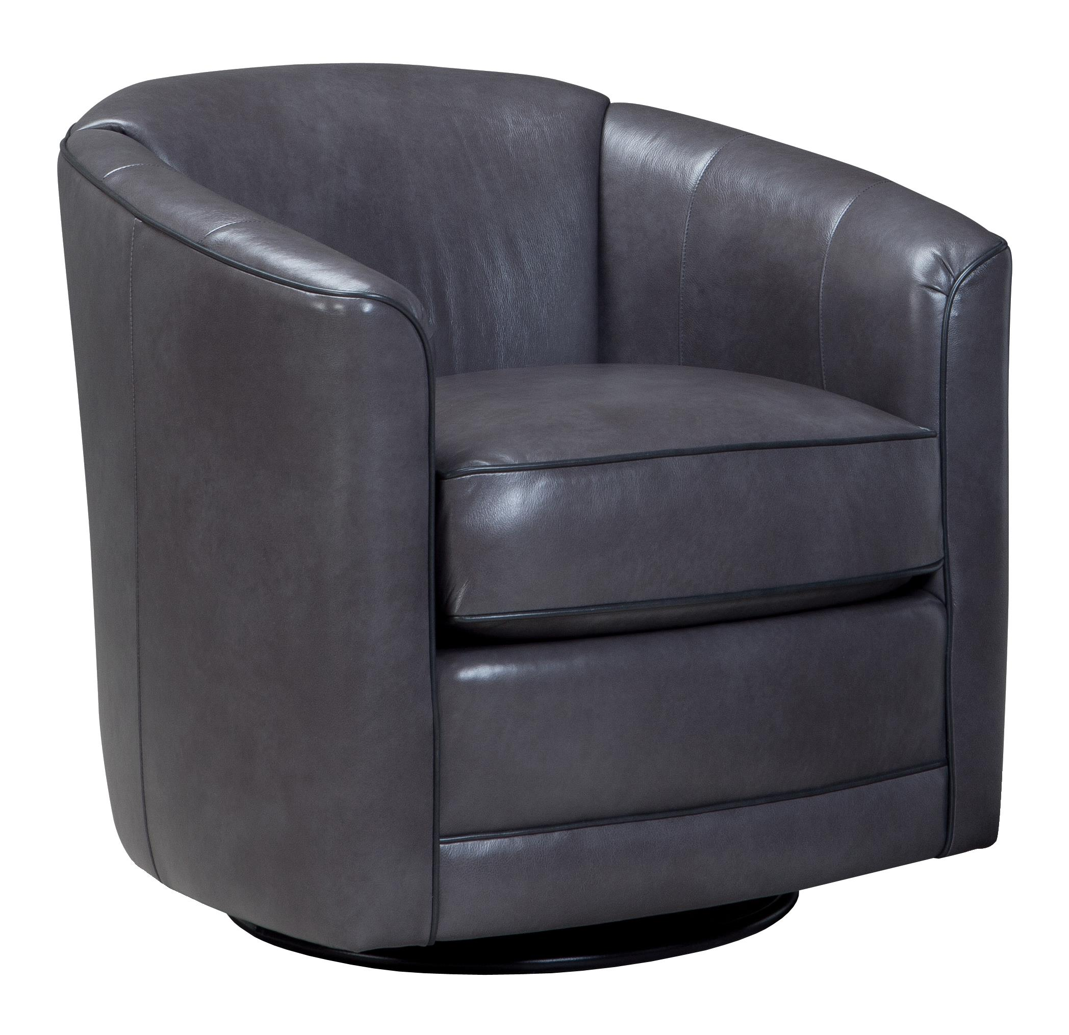 swivel glider chair with barrel back by smith brothers wolf and