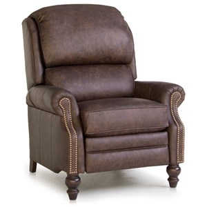Pressback Reclining Chair with Rolled Arms