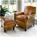 Smith Brothers 933 Upholstered Chair & Ottoman - Item Number: 933L+933OTL