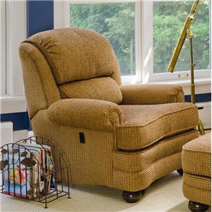 Tilt Back Reclining Upholstered Chair