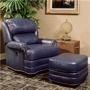 Smith Brothers 990 Tilt-Back Chair and Ottoman