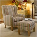 Smith Brothers 994 Upholstered Chair & Ottoman - Item Number: 994-OT+C