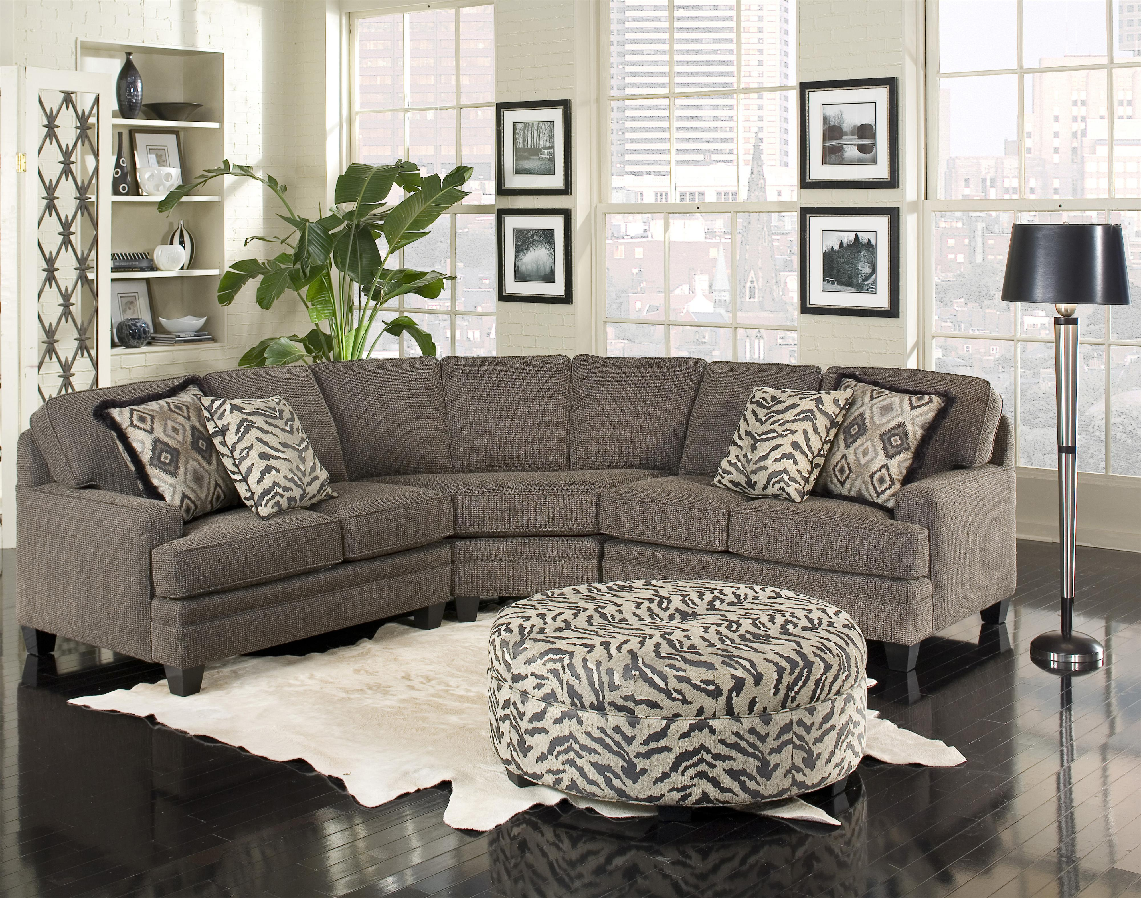 Perfect Five Person Sectional Sofa With Contemporary Style