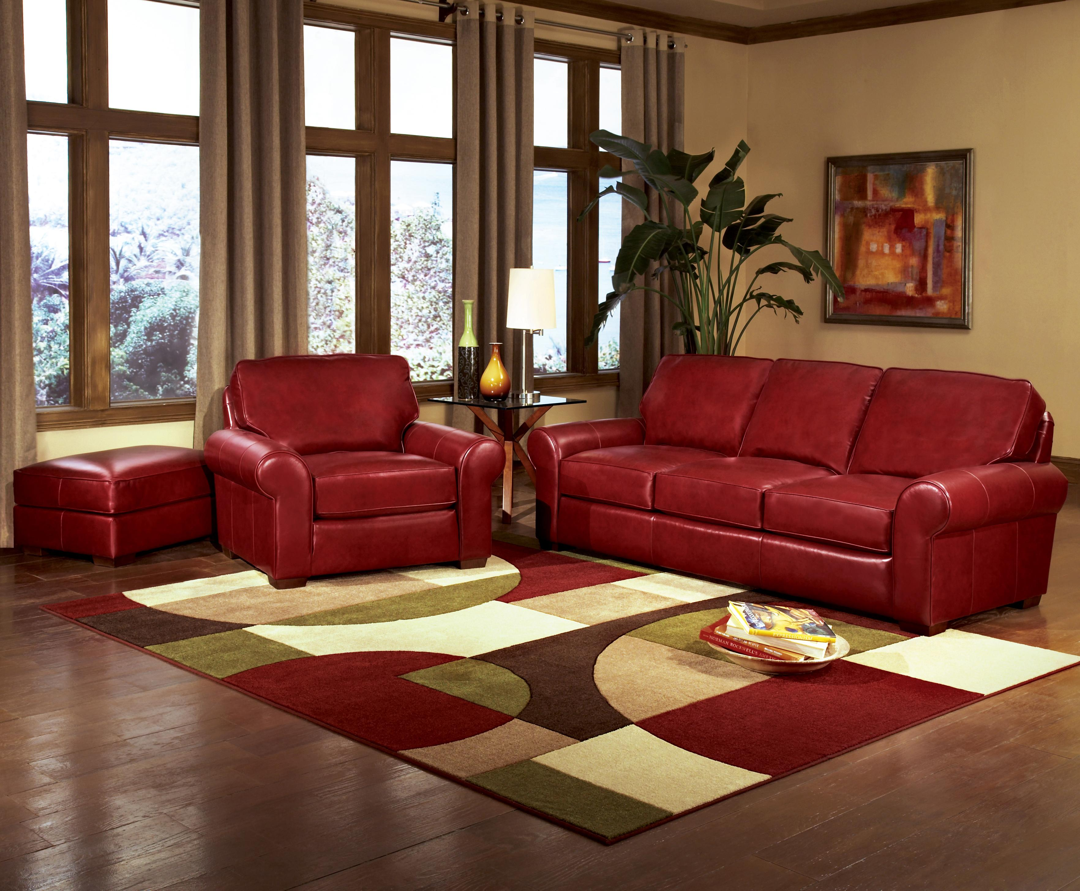 Classic Casual Sofa with Sock Arms by Smith Brothers