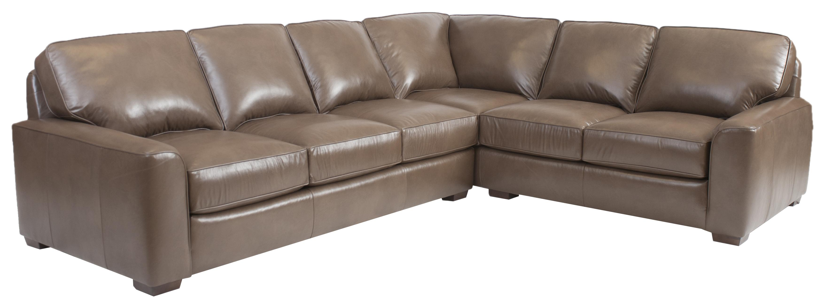 Corner Sectional Sofa by Smith Brothers