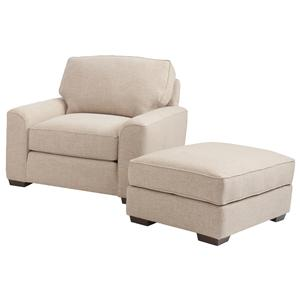 Smith Brothers Build Your Own (8000 Series) Chair and Ottoman