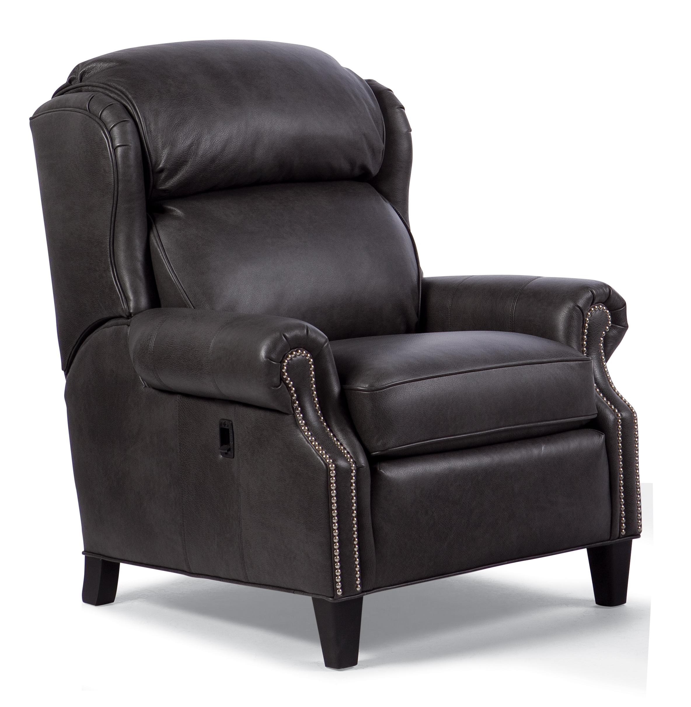 Big/Tall Motorized Reclining Chair with Nailhead Trim  sc 1 st  Wolf Furniture & Big/Tall Motorized Reclining Chair with Nailhead Trim by Smith ... islam-shia.org