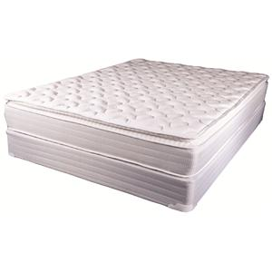 Solstice Sleep Products Falmouth Twin Pillow Top Mattress Set
