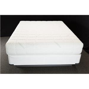 "Solstice Sleep Products Paradice Skandia Queen 10"" Gel Memory Foam Mattress"