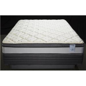 Solstice Sleep Products Veridian Aqua Twin Euro Top Mattress
