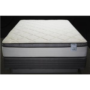 Solstice Sleep Products Veridian Coral King Euro Pillow Top Mattress