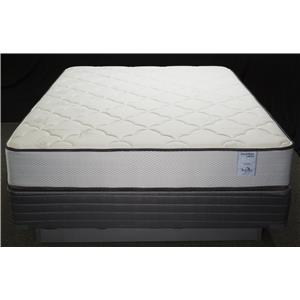 Solstice Sleep Products Veridian Coral Twin Firm Mattress Set