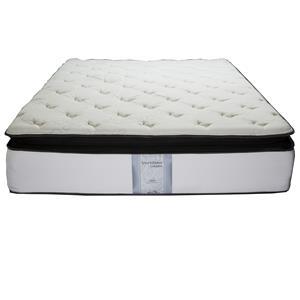 Solstice Sleep Products Veridian Jade Queen Pillow Top Mattress Set