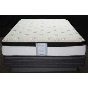 Solstice Sleep Products Veridian Tourmaline Queen Pillow Top Mattress Set