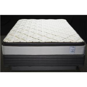 Solstice Sleep Products Veridian Vermillion Queen Pillow Top Mattress Set