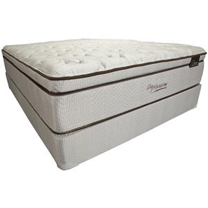Southerland Bedding Co. Sleep XPressions Donovan King Super Pillow Top Mattress Set