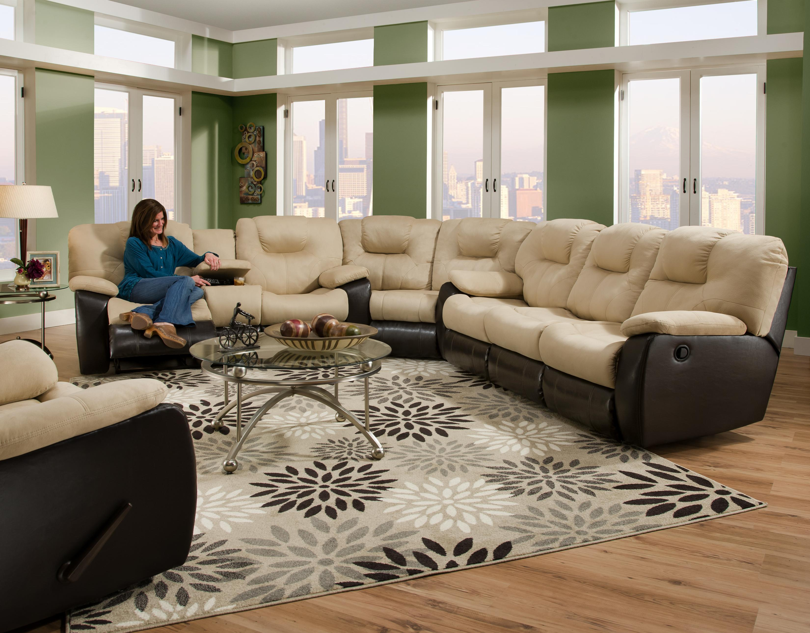 unique avalon 2 piece sectional sofa sectional sofas