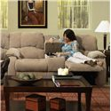 Southern Motion Continental 792 Reclining Console Sofa - Item Number: 792-28