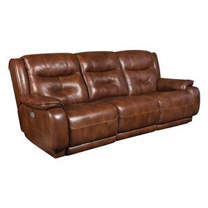 Belfort Motion Fairmont Double Reclining Sofa with Power Headrest