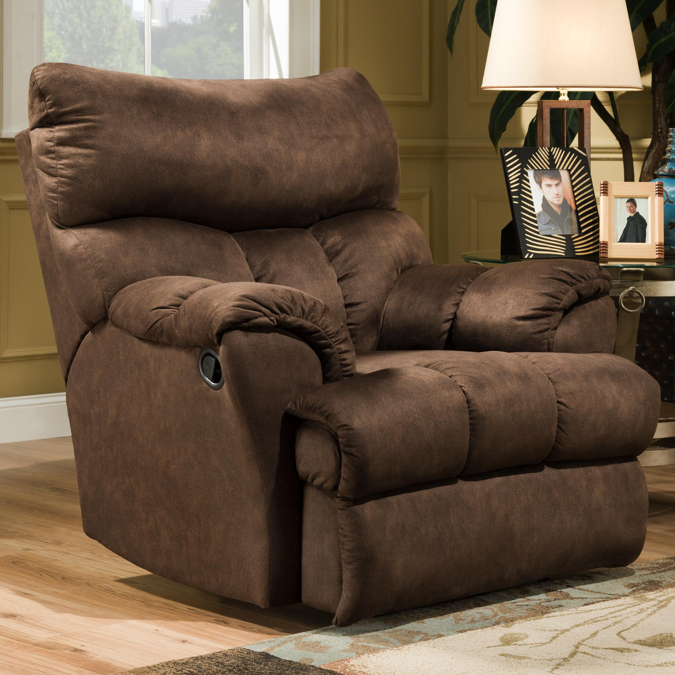 Casual Swivel Styled Rocker Recliner by Southern Motion | Wolf and ...