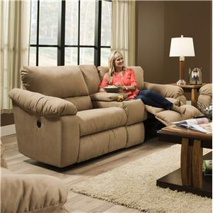 Southern Motion Gravity Double Reclining Console Sofa
