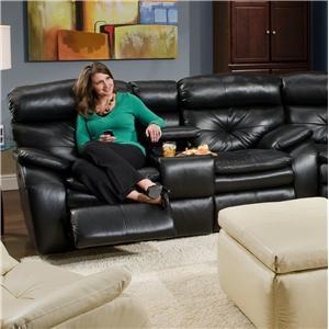 Southern Motion Jitterbug Powerized Console Sofa