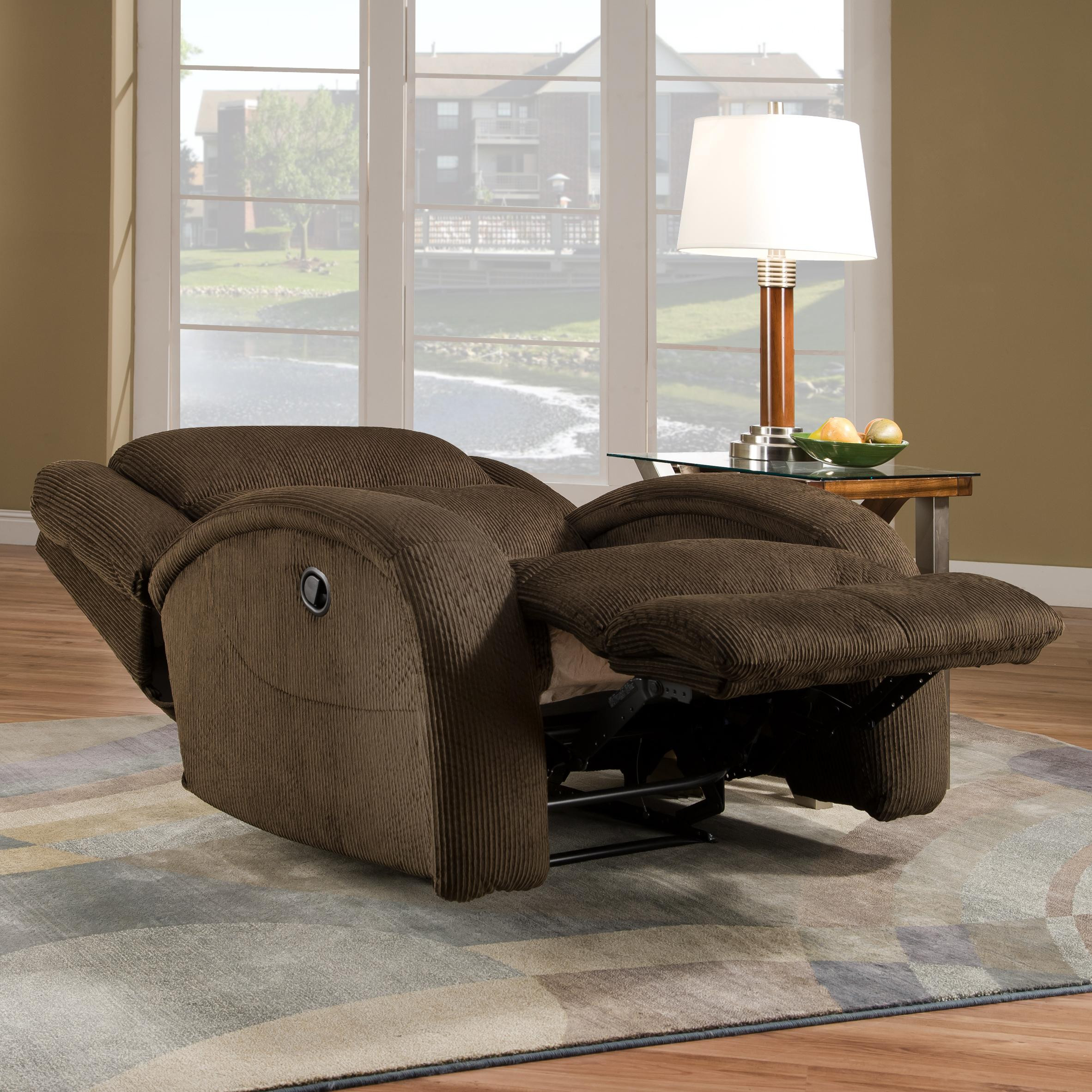recliner chair and a half with style
