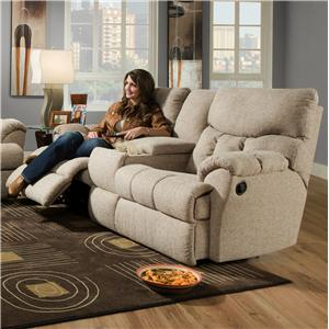 Southern Motion Re-Fueler  Powerized Console Sofa