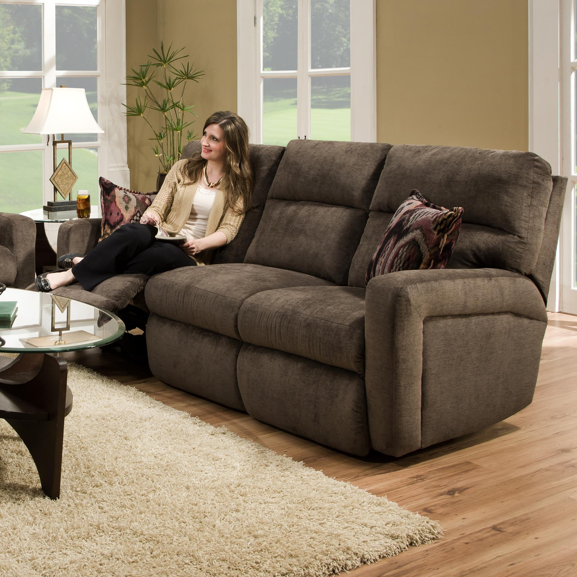 Contemporary Styled Double Reclining Sofa for Family Rooms. by Southern Motion : motion recliner sofa - islam-shia.org