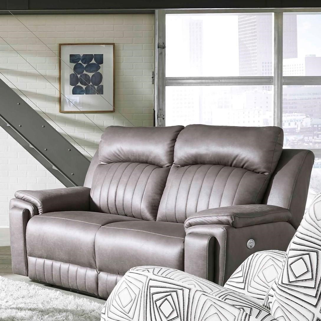 Enjoyable Contemporary Double Reclining Loveseat With Hidden Arm Cup Alphanode Cool Chair Designs And Ideas Alphanodeonline