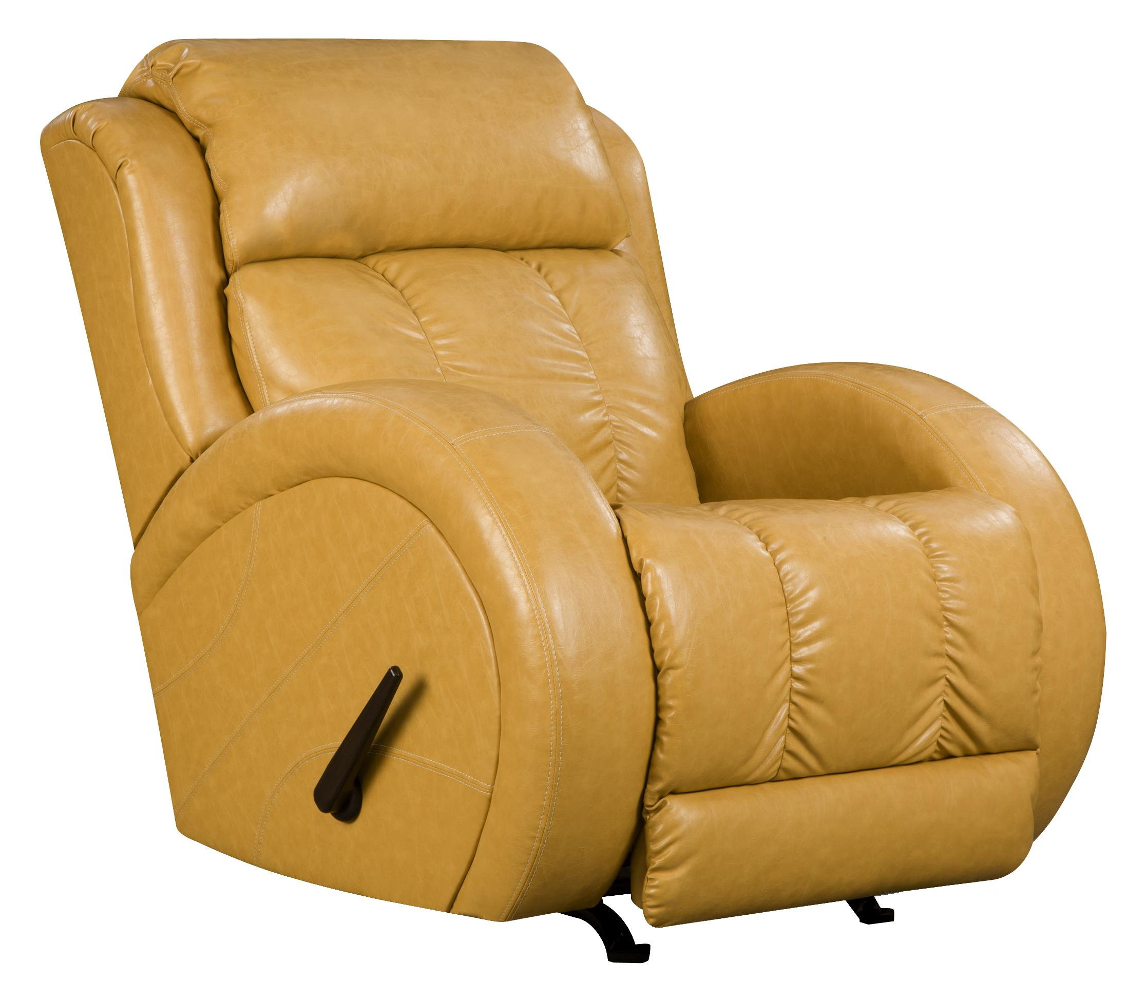 lay-flat recliner with sport style by southern motion | wolf and