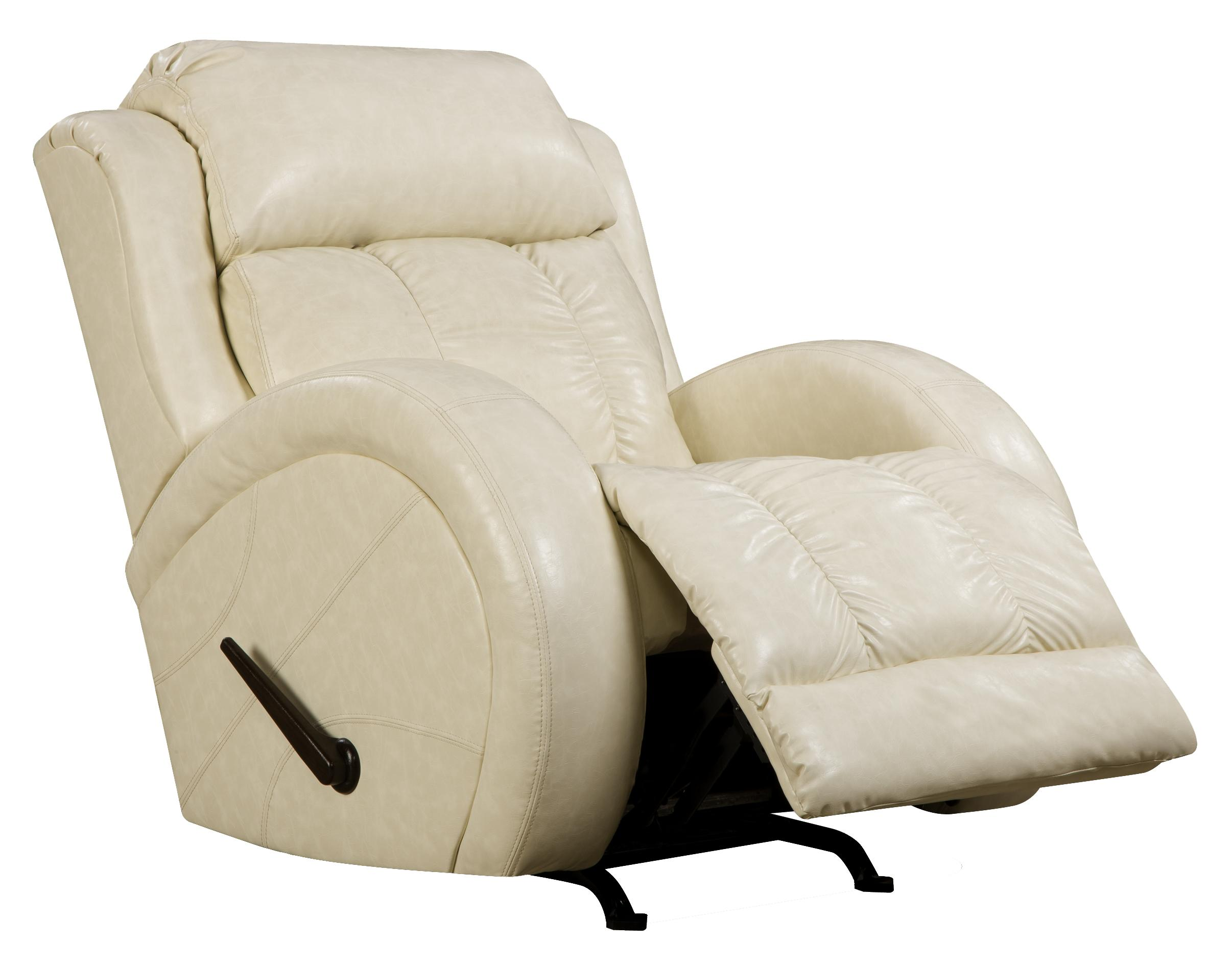 Swivel rocker recliner with sport style by southern motion wolf and gardiner wolf furniture - Stylish rocker recliner ...