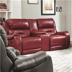 Southern Motion Sting Power Double Reclining Console Sofa