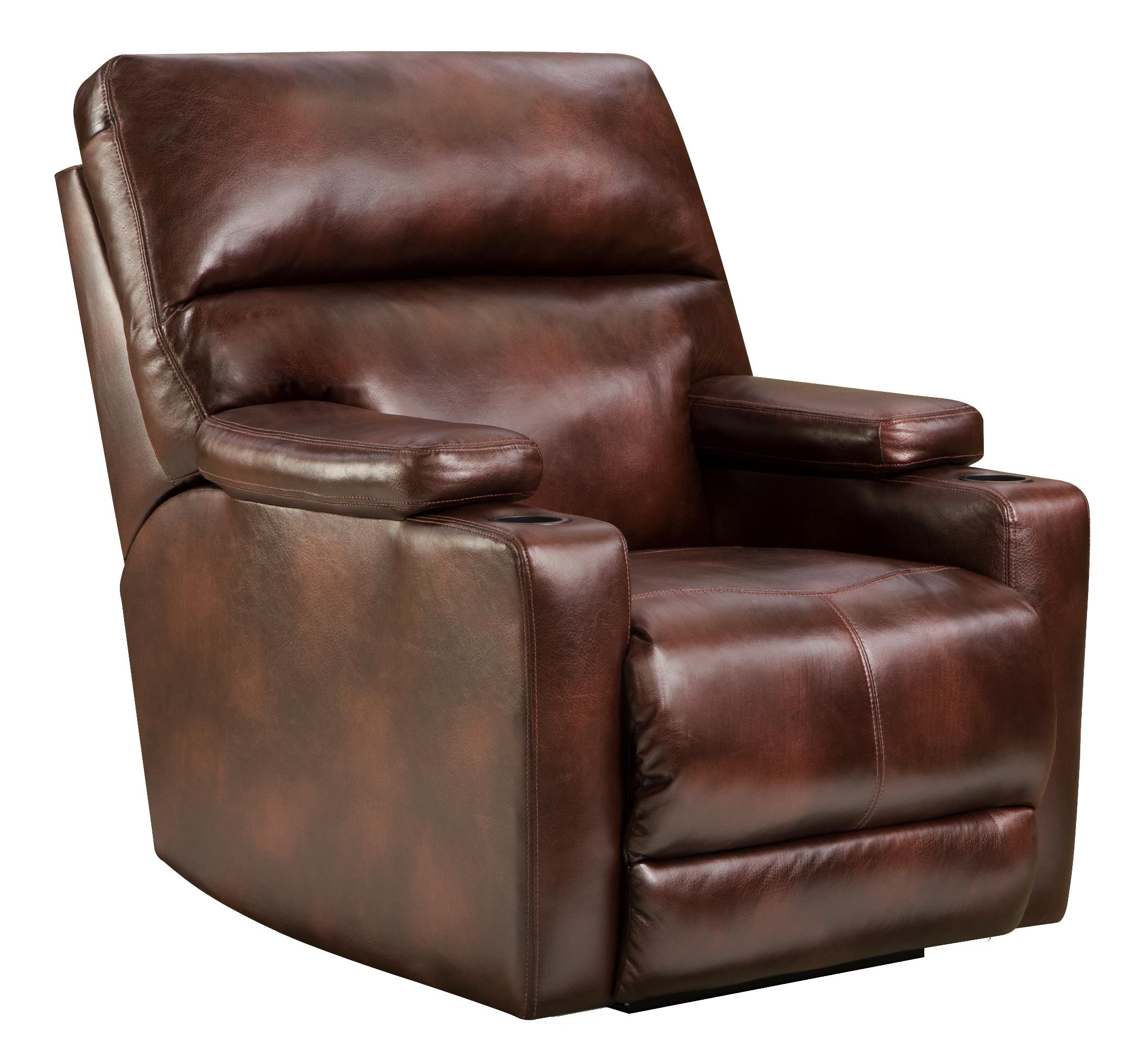 Lay Flat Recliner With Theater Seating Option By Southern