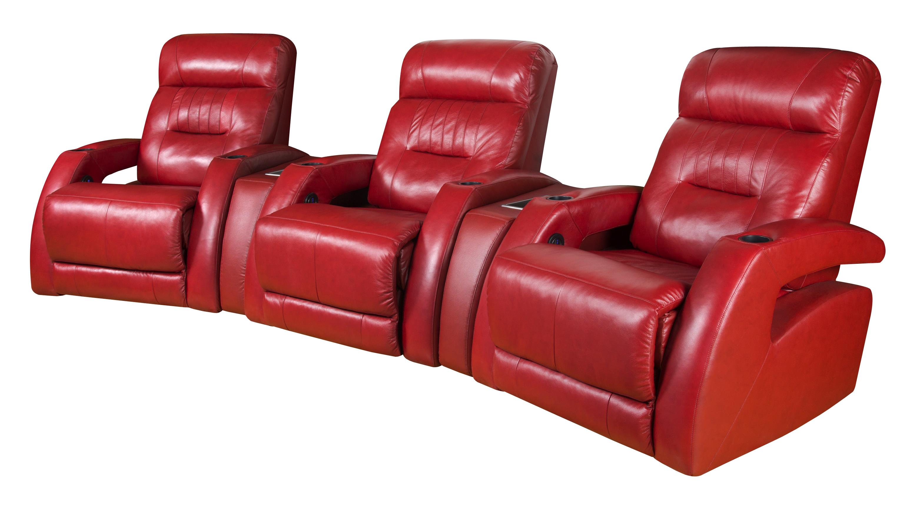 theater seating sectional with modern style by southern motion