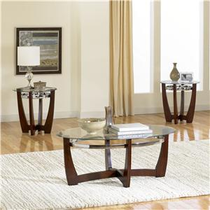 Standard Furniture Apollo 3-Pack With Cocktail Table and End Tables