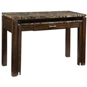 Standard Furniture Bella Desk/Entertainment Combo with Power Plug