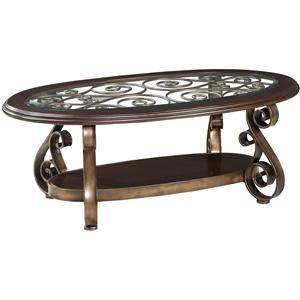 Standard Furniture Bombay Old World Cocktail Table