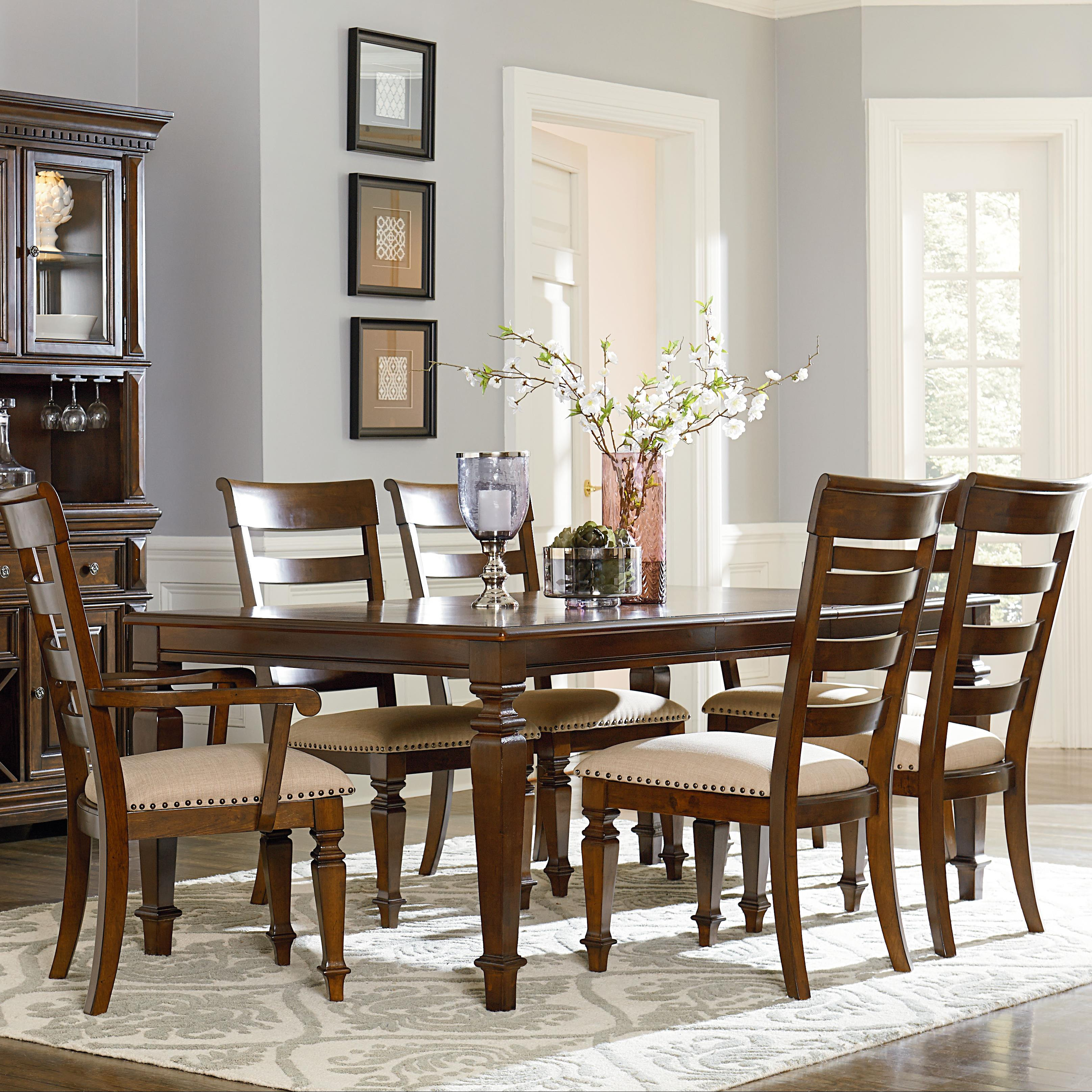 dining table with legs and 18 leaf by standard furniture wol