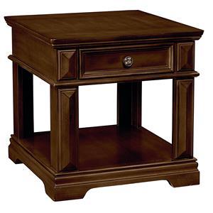 Standard Furniture Charleston 1 Drawer End Table