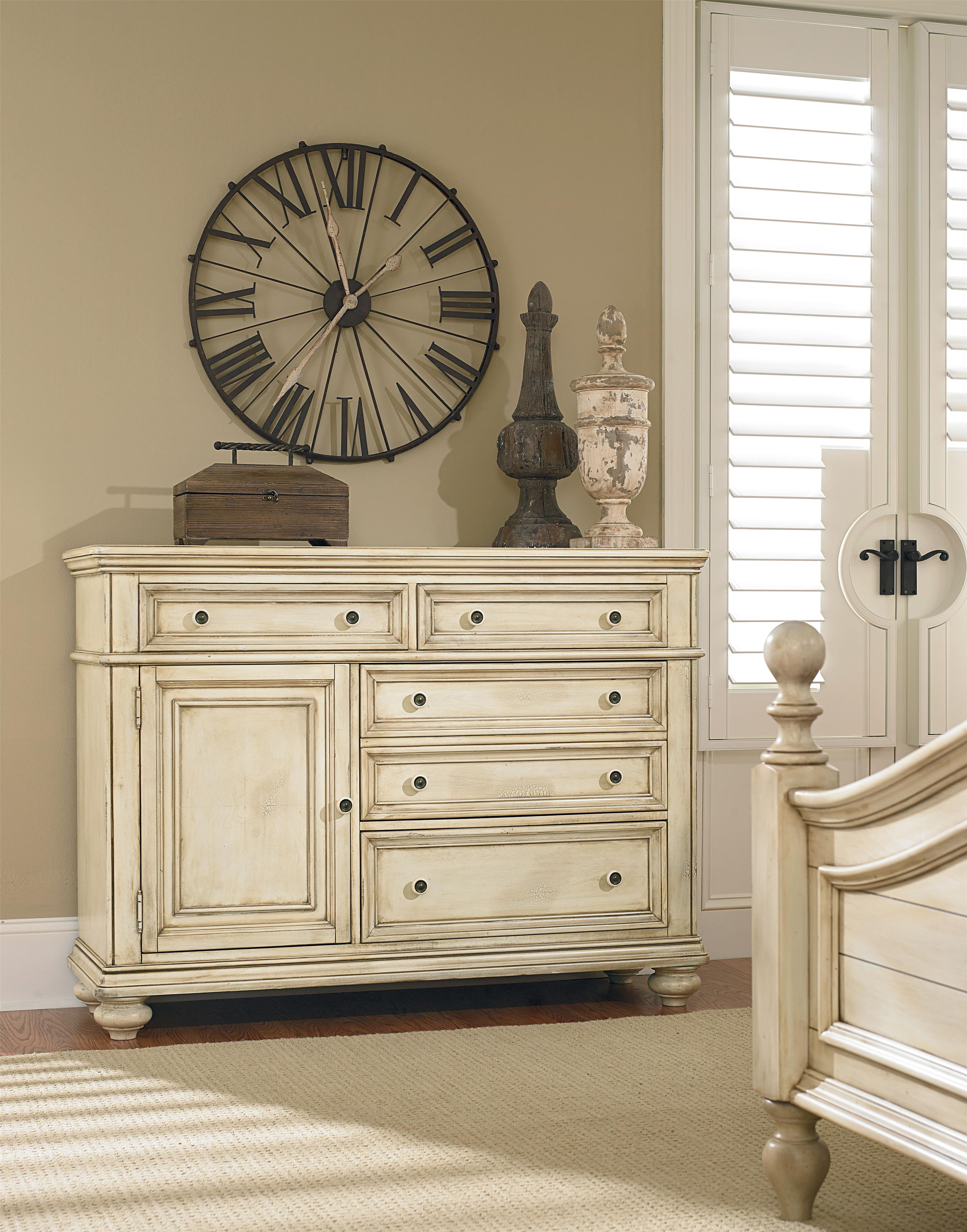 Superior Chesser With 5 Drawers And 1 Door. By Standard Furniture