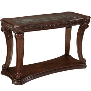 ... Garrison New Traditional Console Table at Great American Home Store