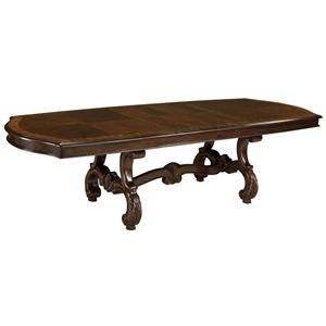 Standard Furniture Churchill Rectangular Trestle Dining Table